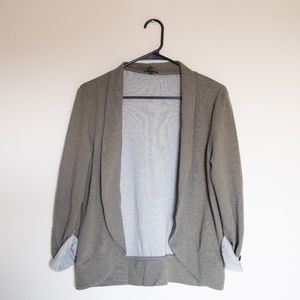 Express Olive Green Stretchy Cardigan - S